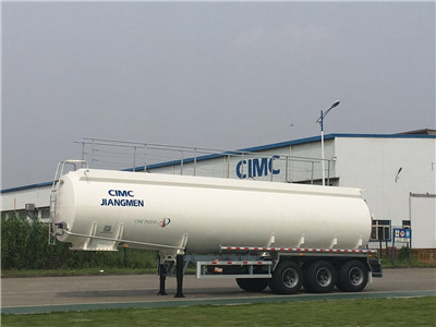 China 6x4 35KL Palm Oil Tanker with tri-axle