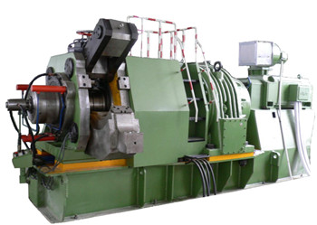 Aluminum continuous extrusion flat wire machine