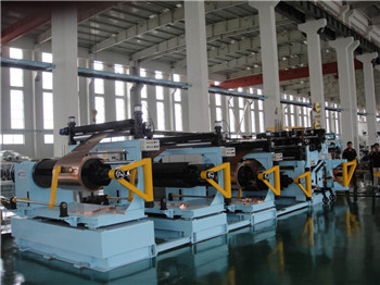LV foil winding machine for transformers
