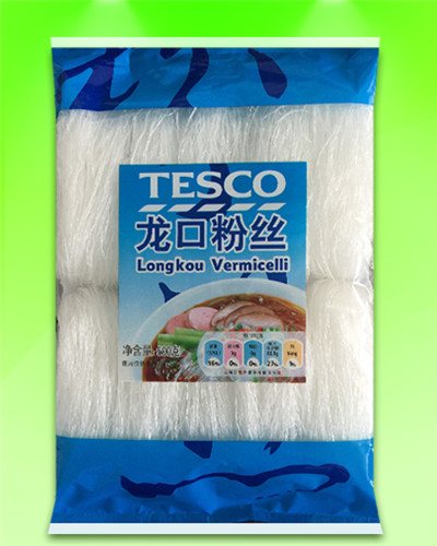 TESCO baked longkou vermicelli 500G supplier