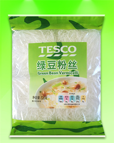 TESCO brand baked vermicelli 320G(40GX8)square OEM accept