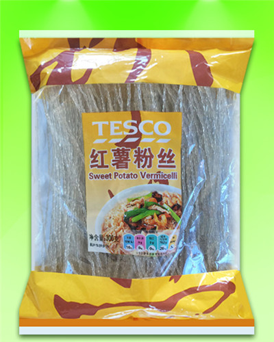 Sanlian brand Thick/Wide Sweet potato vermicelli 300G(22-24cm) OEM accept