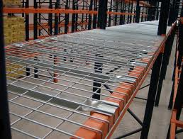 wire mesh shelving
