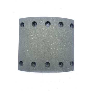 High qulaity semi metallic and ceramic material brake lining for BPW WVA19032