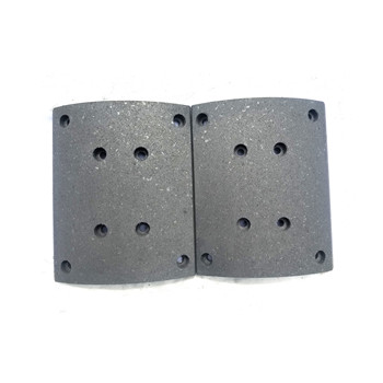 Brake lining for trucks and trailers brake pads for sale