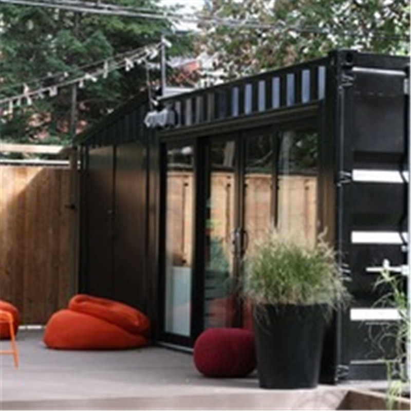 Low cost tiny container house prefabricated