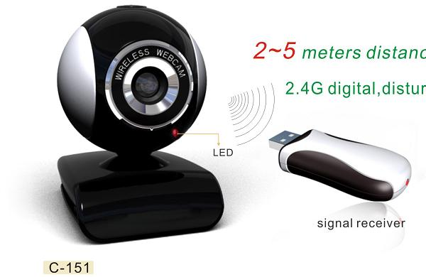 Web-camera with 2 lenses