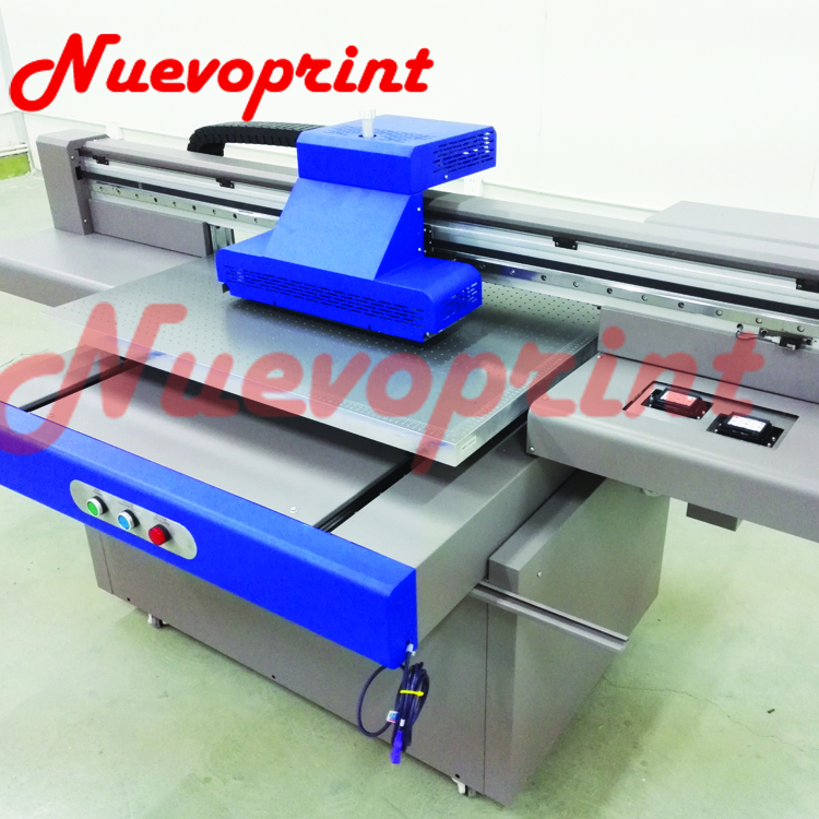 UV led curing 3d varnish inkjet printer NVP6090