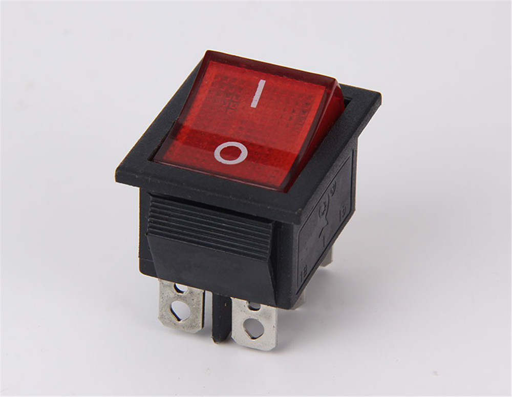 Button Switch KCD4 single wide switch