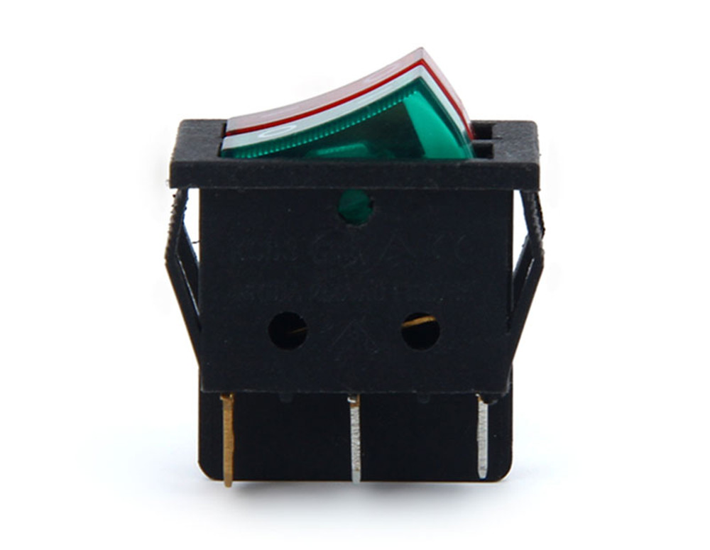 Double Rocker Switch with light