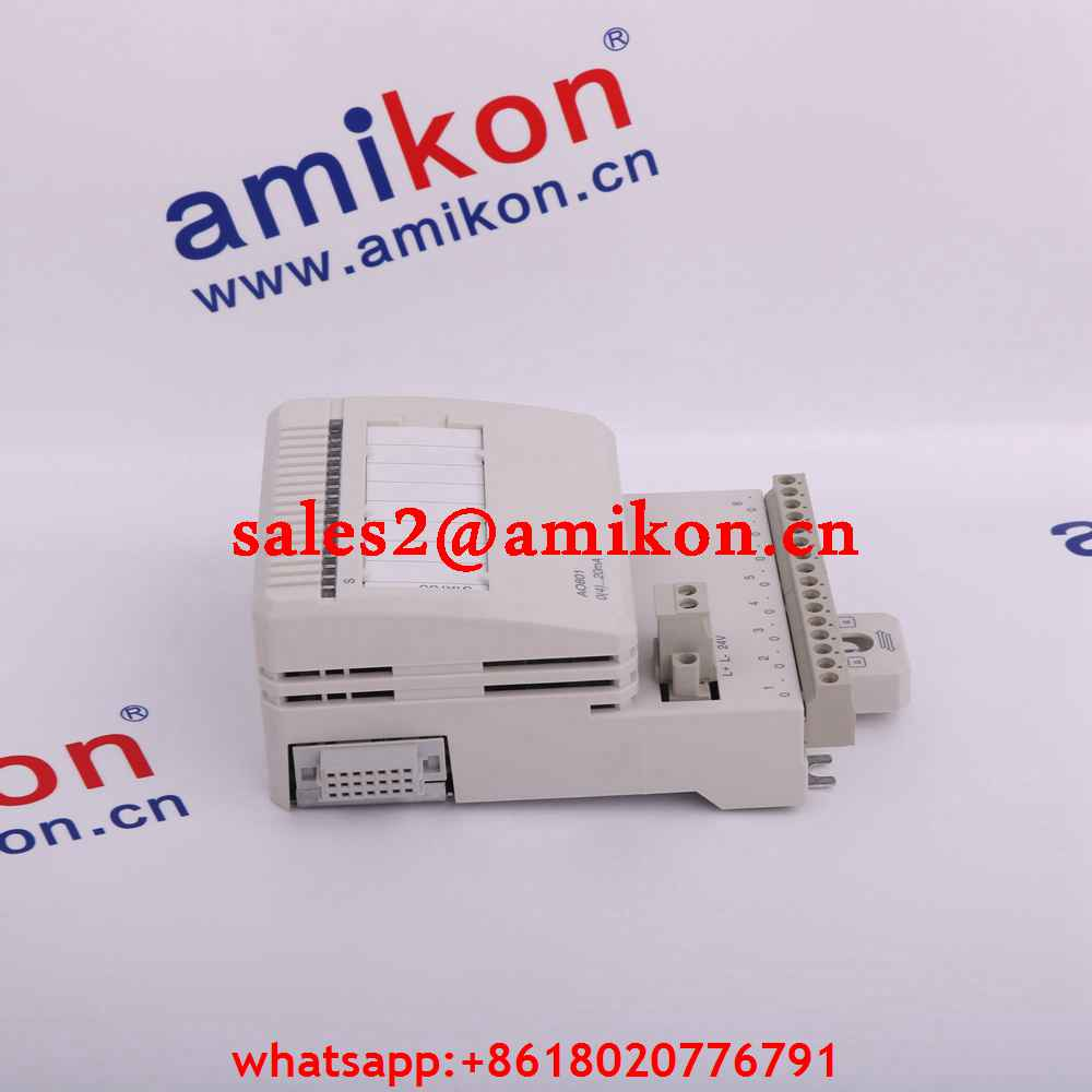 ABB NTAI01  6632115A1 Analog Input Termination Unit