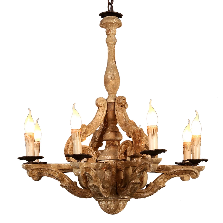 New designs american rustic creative indoor antique candle new designs american rustic creative indoor antique candle chandelierspendant lamp supplier aloadofball Gallery