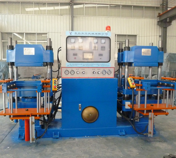 automatic rubber hot plate vulcanizing machine