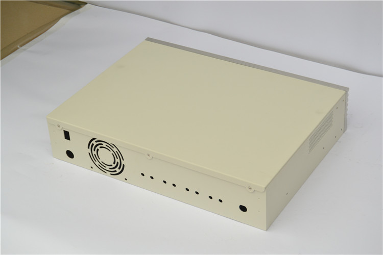 custom design supplier Drawer casing Audio processor 2U amplifier chassis diy
