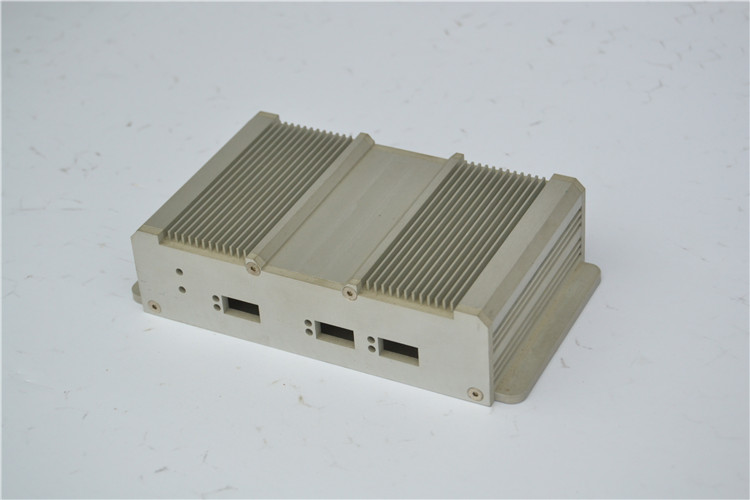 Custom size extruded aluminum project /engineering box for electronic equipment