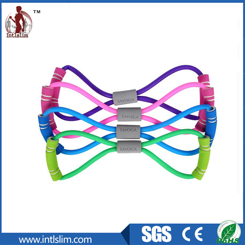 Crossfit Fitness Latex Elastic Chest Expander