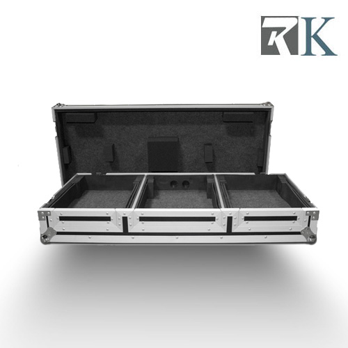 Road Flight Case for PIONEER CDJ2000+DJM900 with Wheels