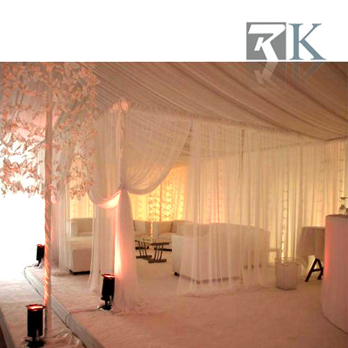 RK Square tent pipe and drape for outdoor/indoor wedding decoration
