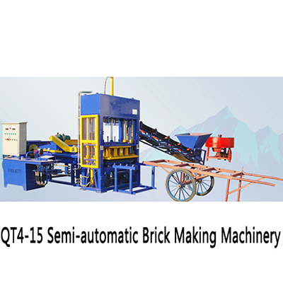 high qulaity fully automatic concrete block/brick making machine production line/mixture/cement