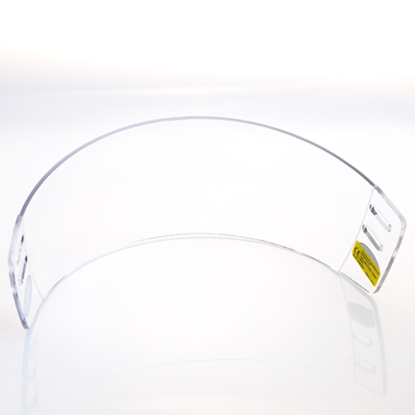 Straight Molding Anti-fog Inside Anti-scratch Outside Hockey Visor