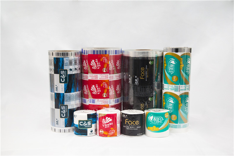 Professional laminated CPP plastic multi-layer facial tissue packaging film