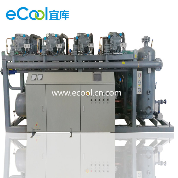 Low-Temperature Screw Type Multi-Compressor Unit