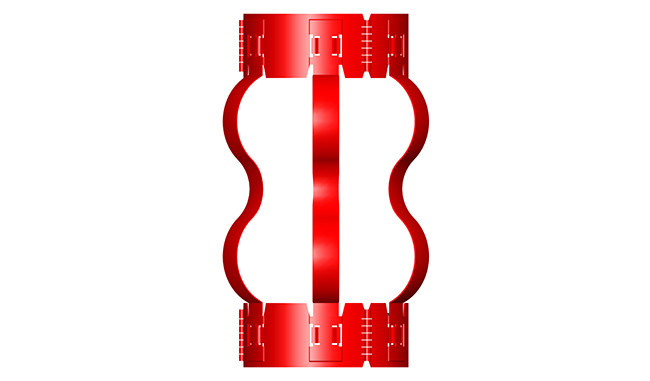 Non-welded Semi Rigid Centralizer