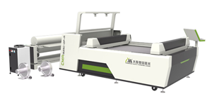 Double Head Asynchronous Laser Cutter with Vision System Series