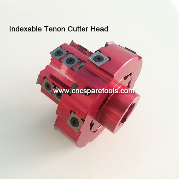 Indexable Blades Tenoning Cutterhead CNC Tenon Cutter Heads