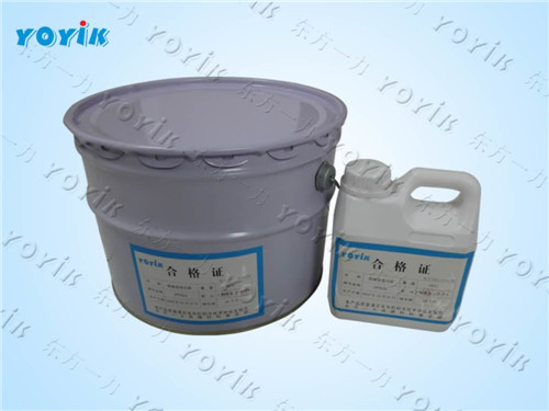 Generator using epoxy RTV adhesive HEC56102