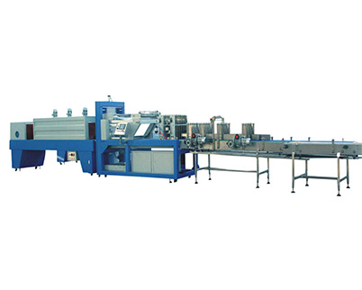 Two Rollers Film Shrinking Packaging Machine