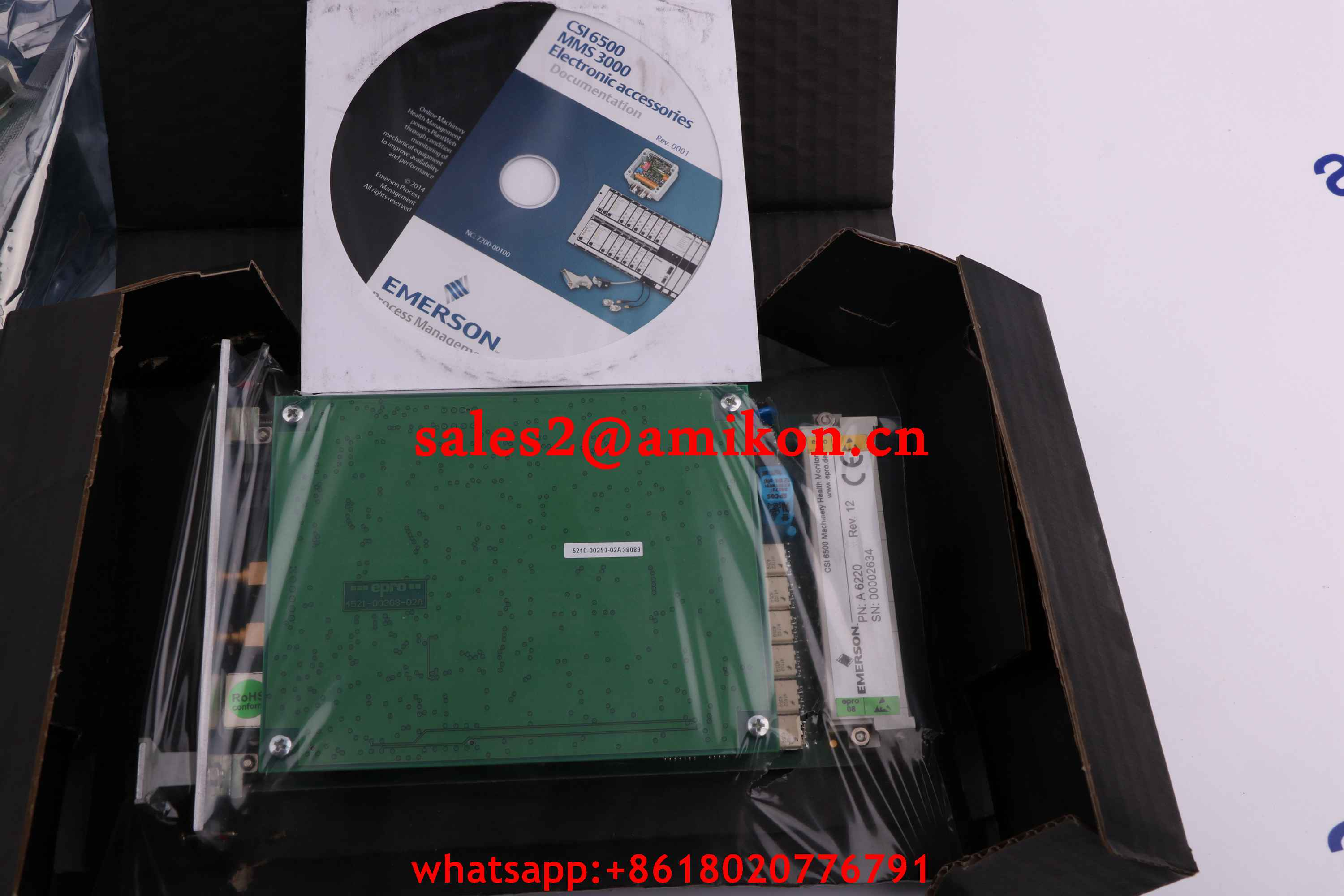 EPRO CON041 PR6423/002-011  9200-00021N new and Original USA 1 year warranty