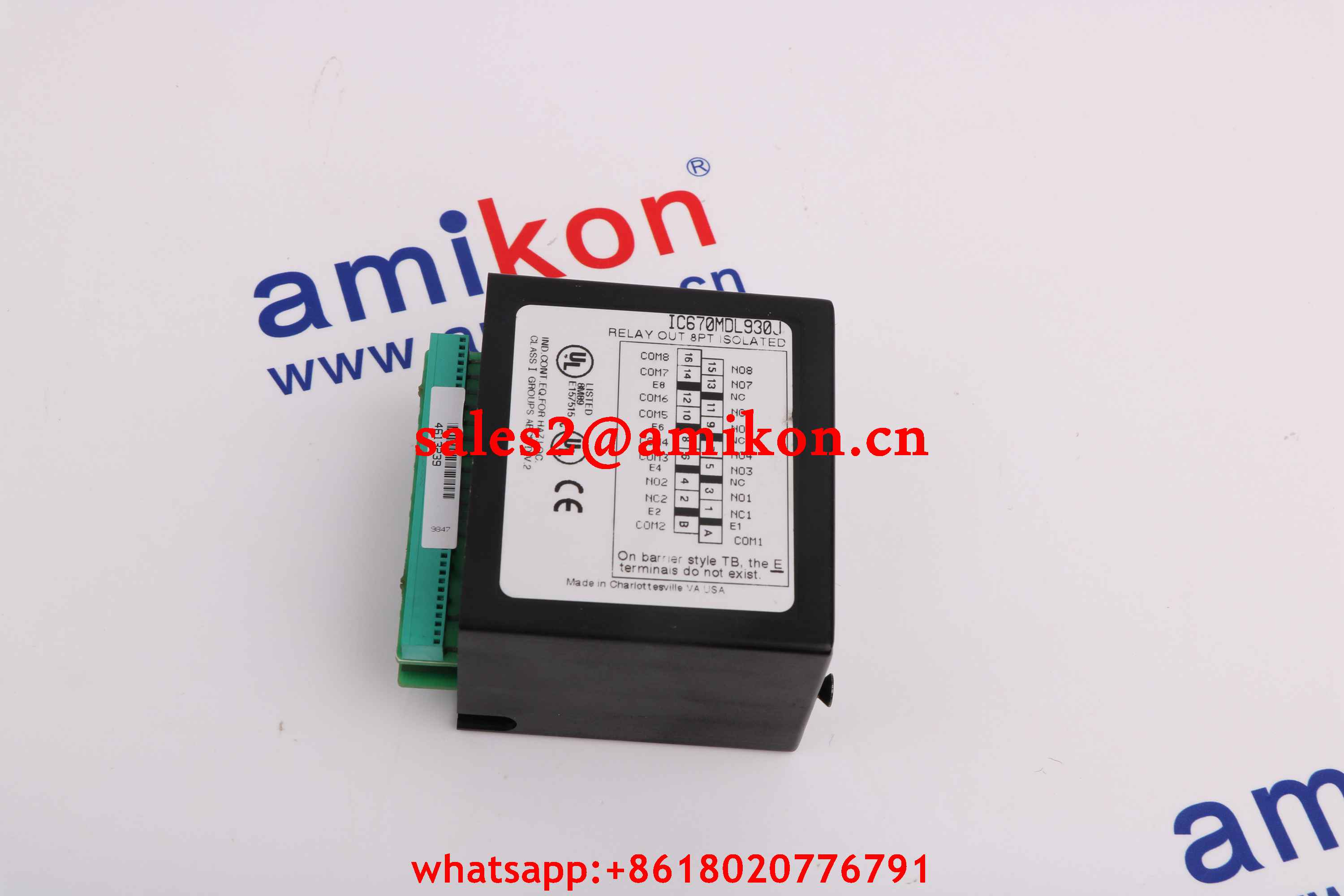 GE FANUC DS3860NVCD new and Original USA 1 year warranty