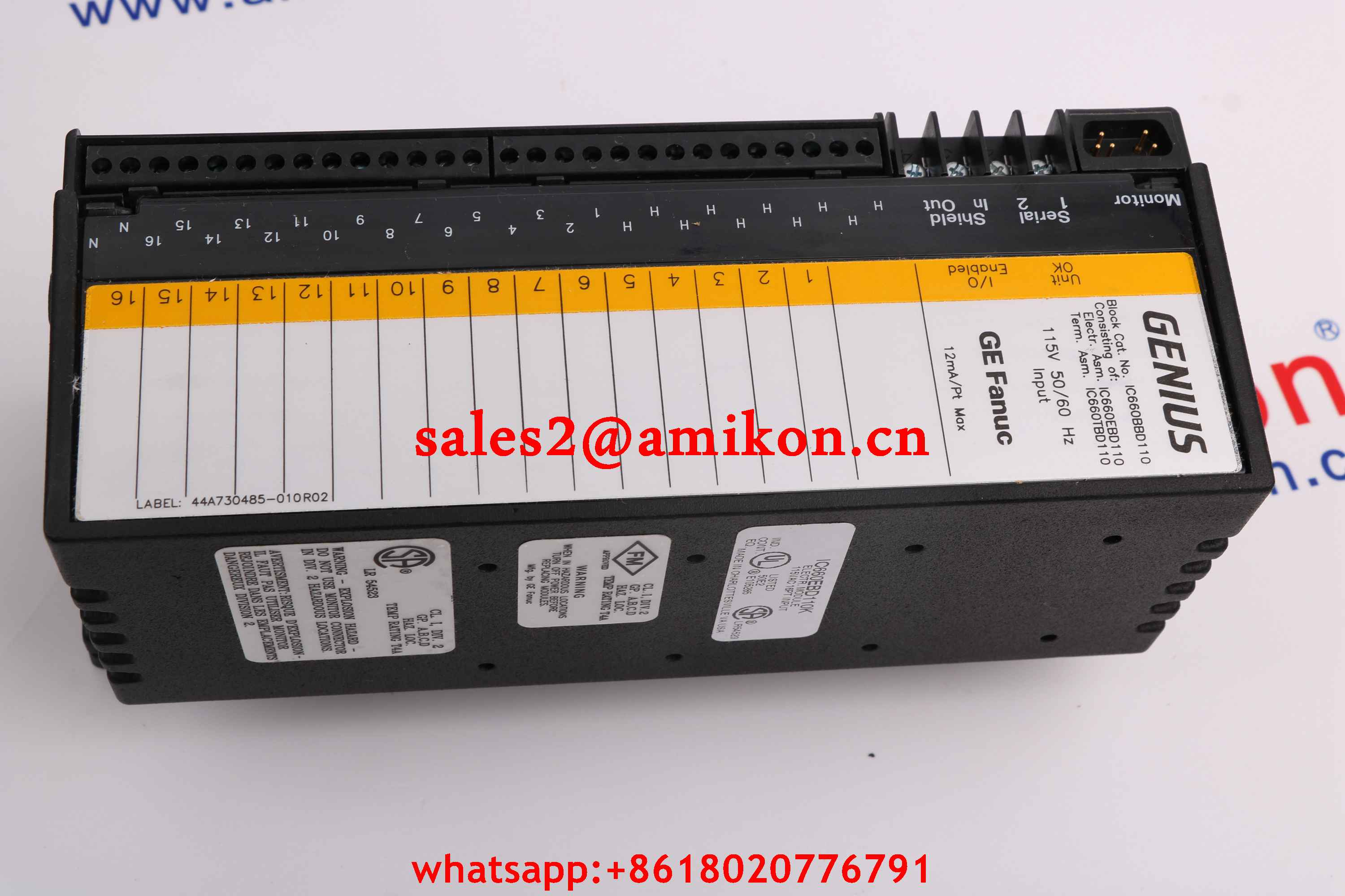 GE FANUC DS3860HUMB  new and Original USA 1 year warranty