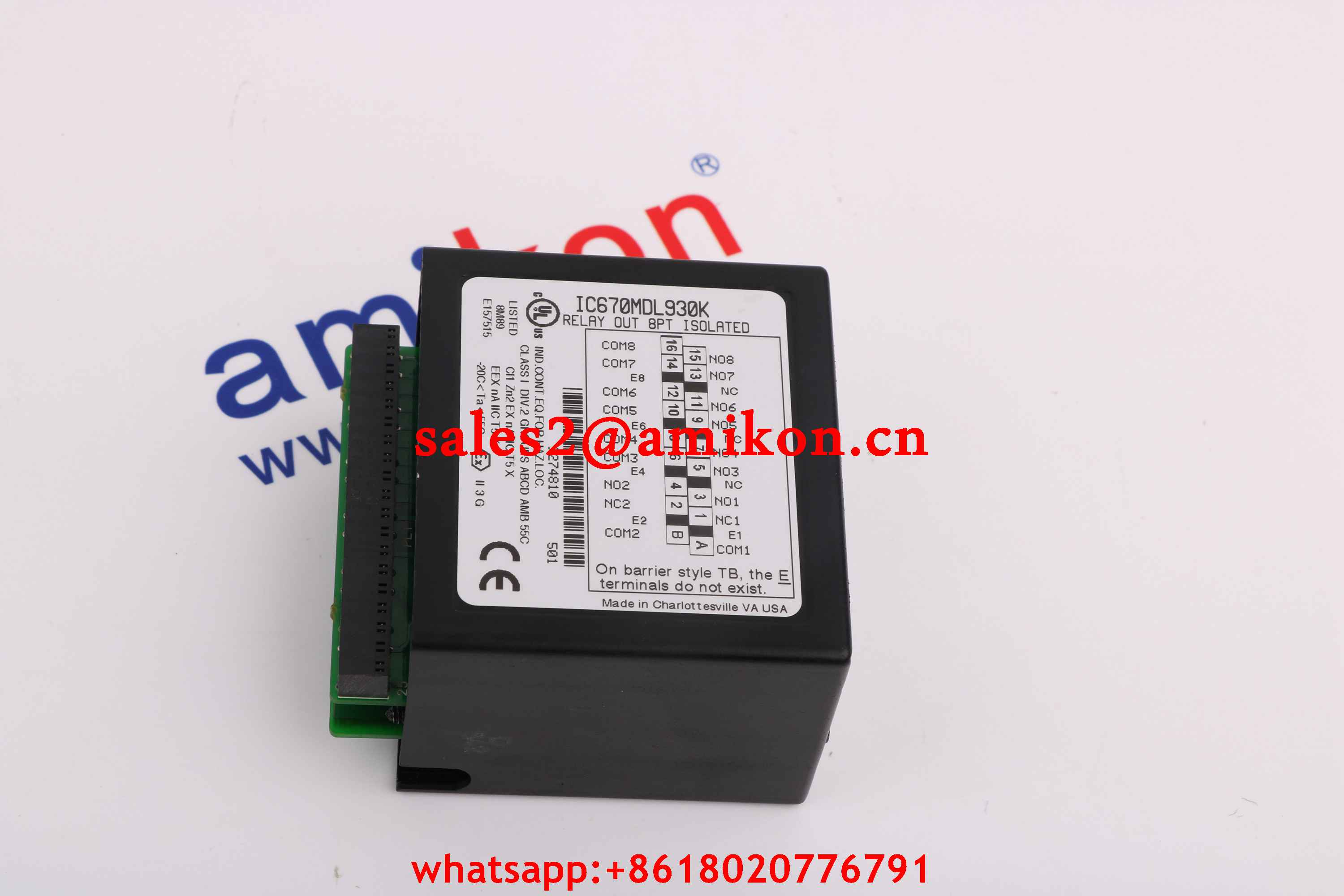 GE FANUC DS3827BMDHB  new and Original USA 1 year warranty