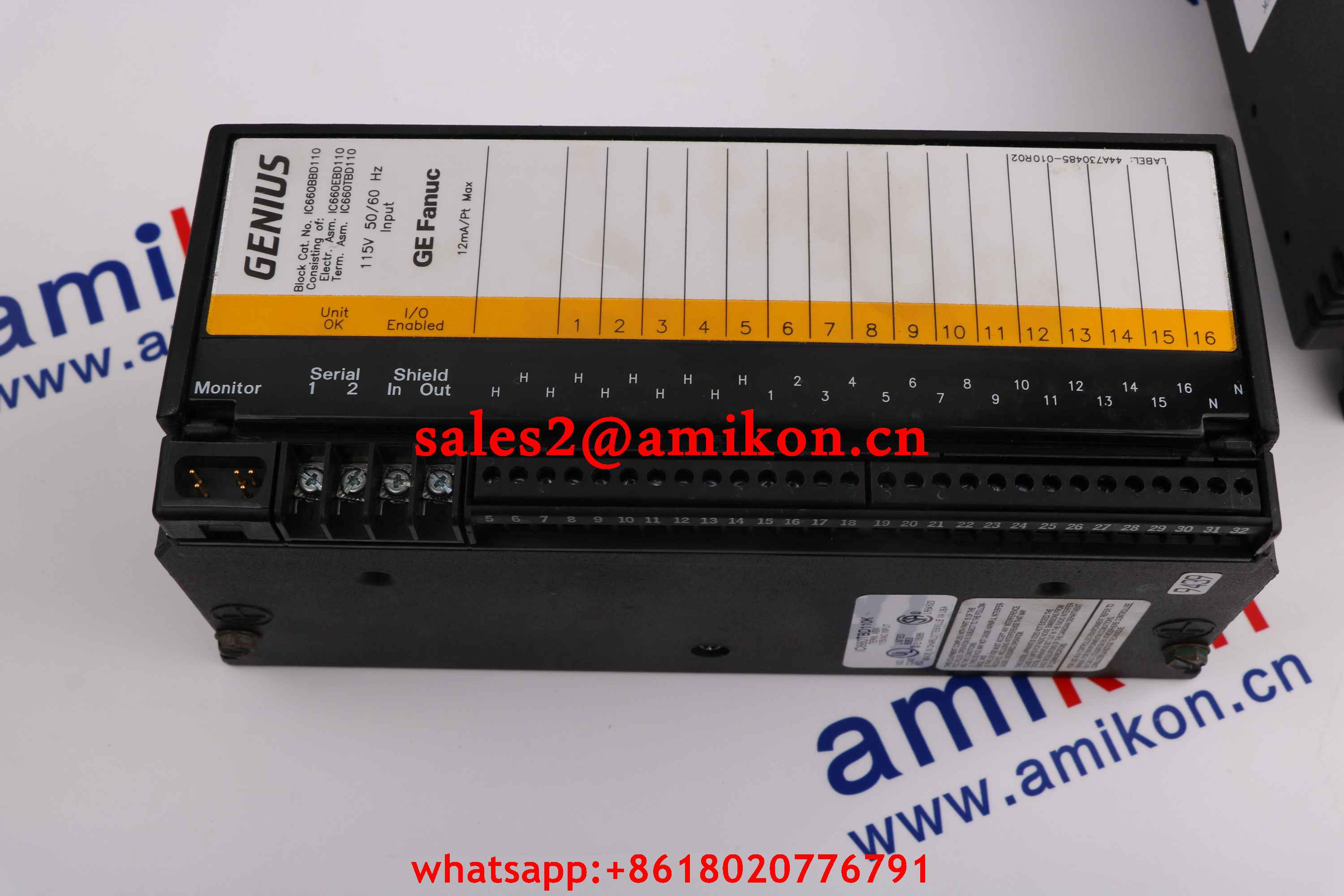 GE FANUC DS4875CHGA new and Original USA 1 year warranty