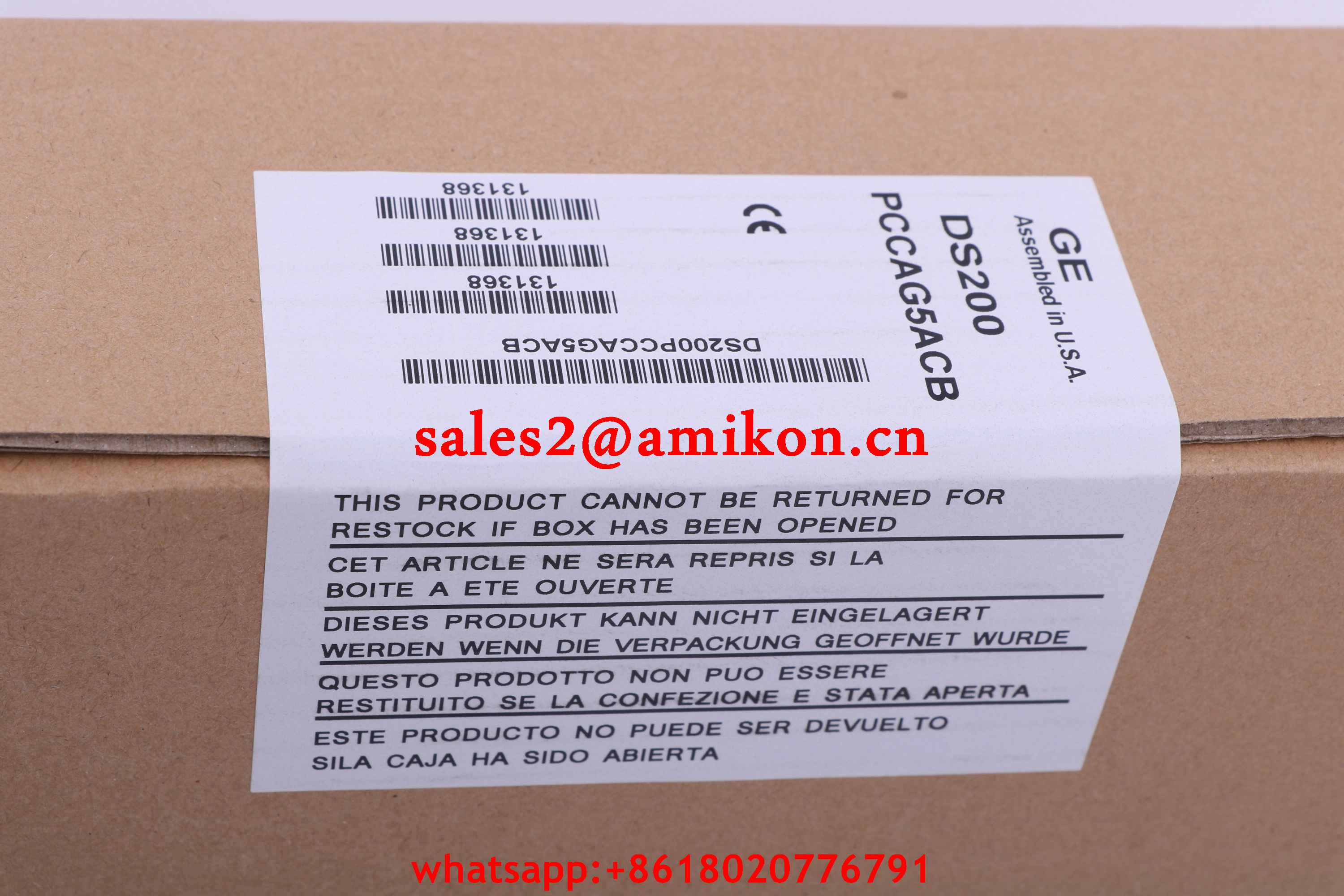 GE FANUC DS200ADCIH1ADB new and Original USA 1 year warranty