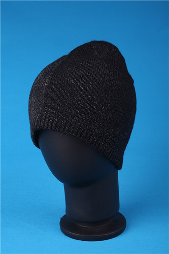 Wholesale custom Colorful warm knitted discharged brocade hat supplier
