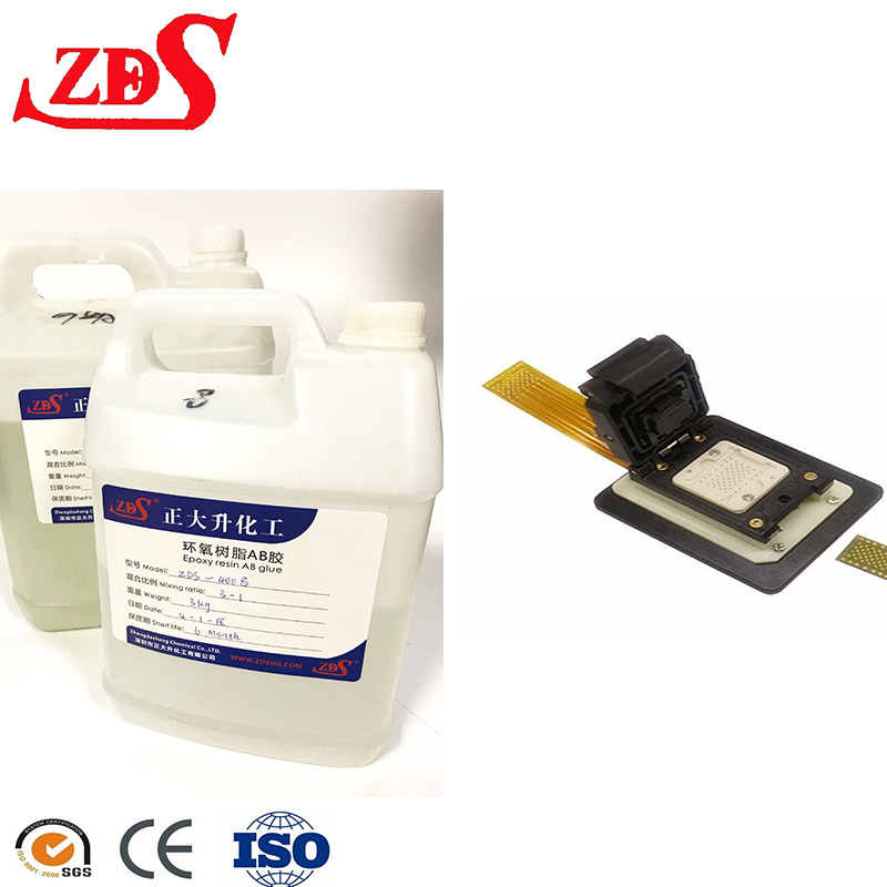 High Temperature 350 Degree Transparent Liquid Two Component Epoxy Resin