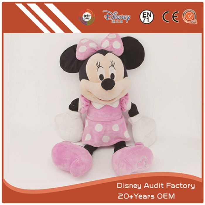 Minnie Mouse Doll & Soft Toy
