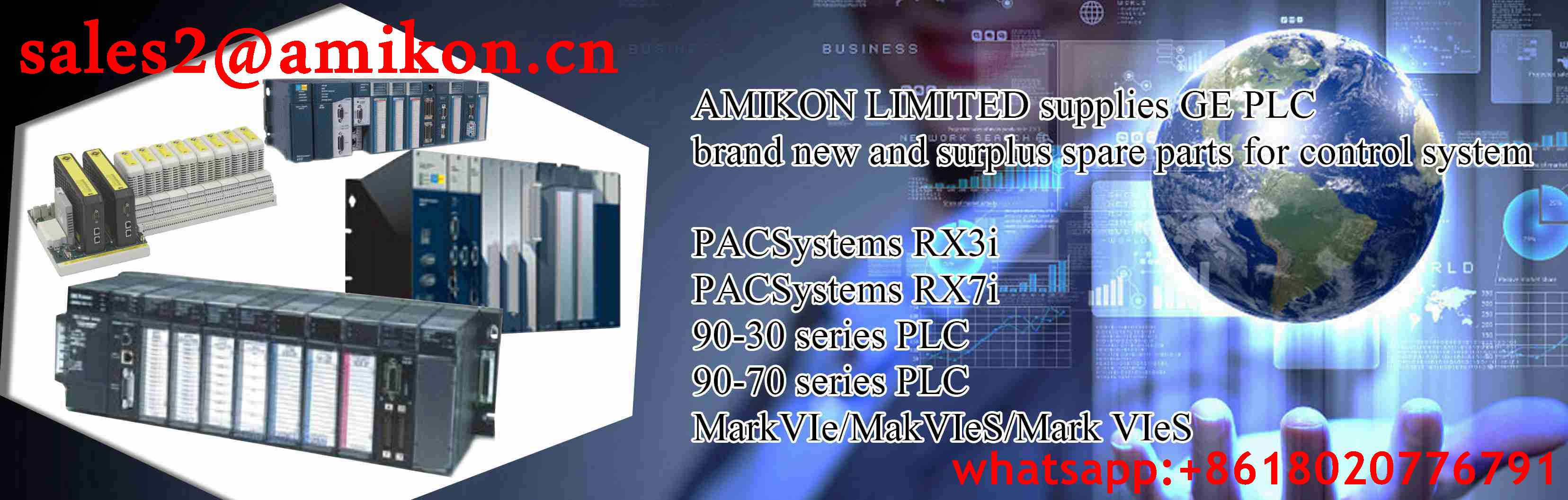 IC697PWR711 GE General Electric sales2@amikon.cn PLC DCS Industry Control System Module