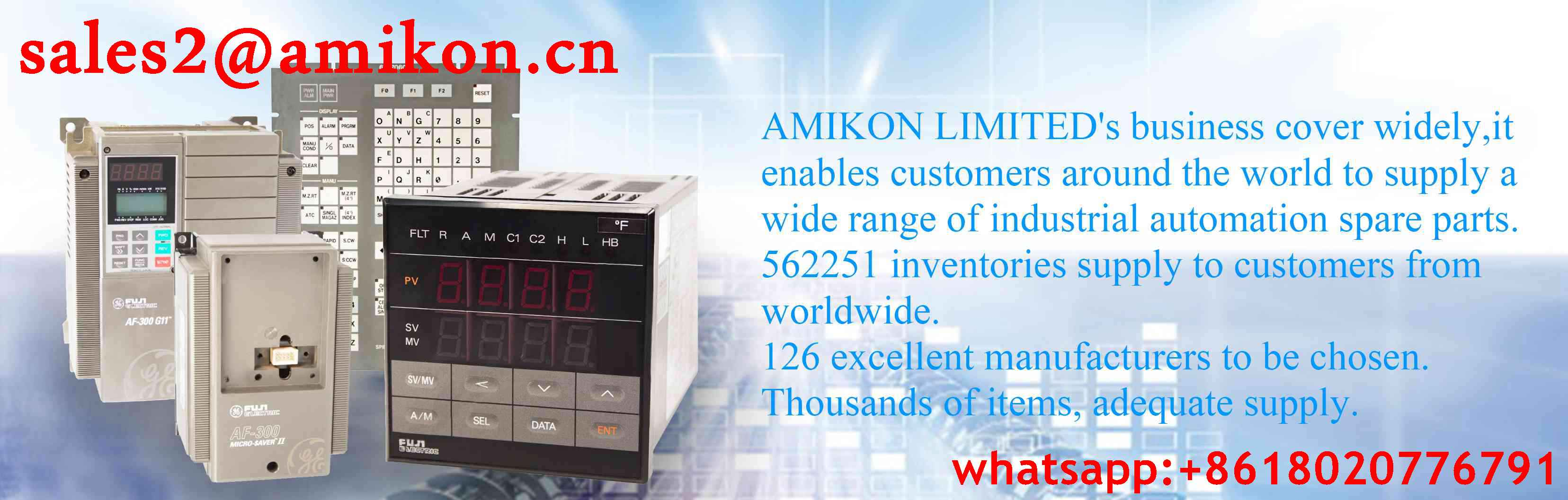 IC697CPU781 GE General Electric sales2@amikon.cn PLC DCS Industry Control System Module