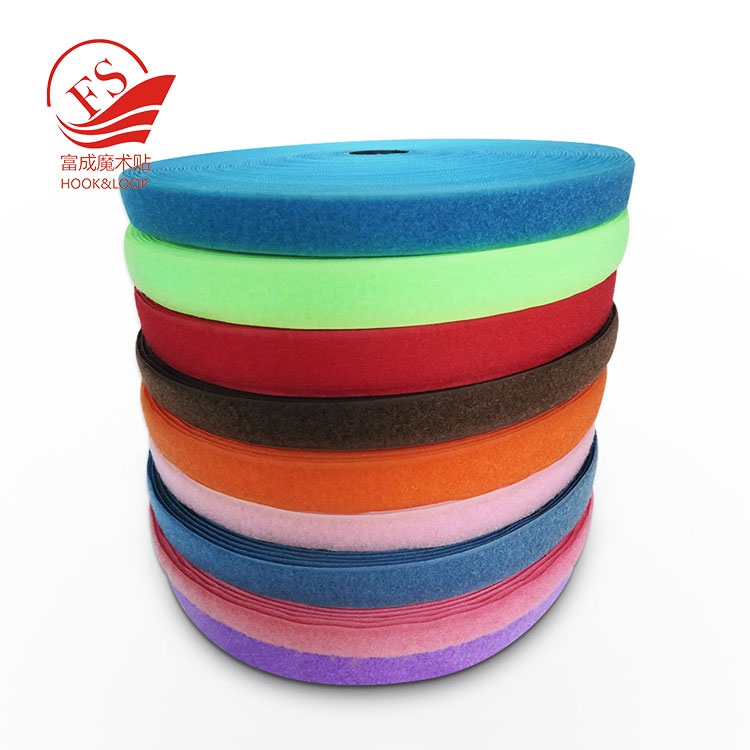100% Nylon Colorful Hook and Loop with good quality