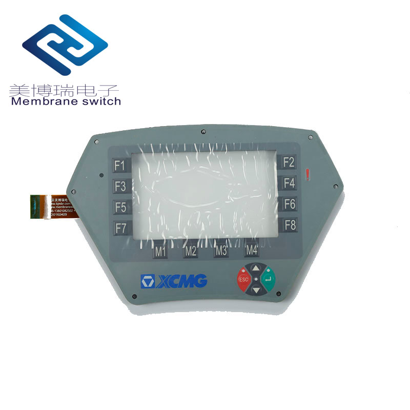 Custom Waterproof Membrane Switch Control Panel With Touch Screen
