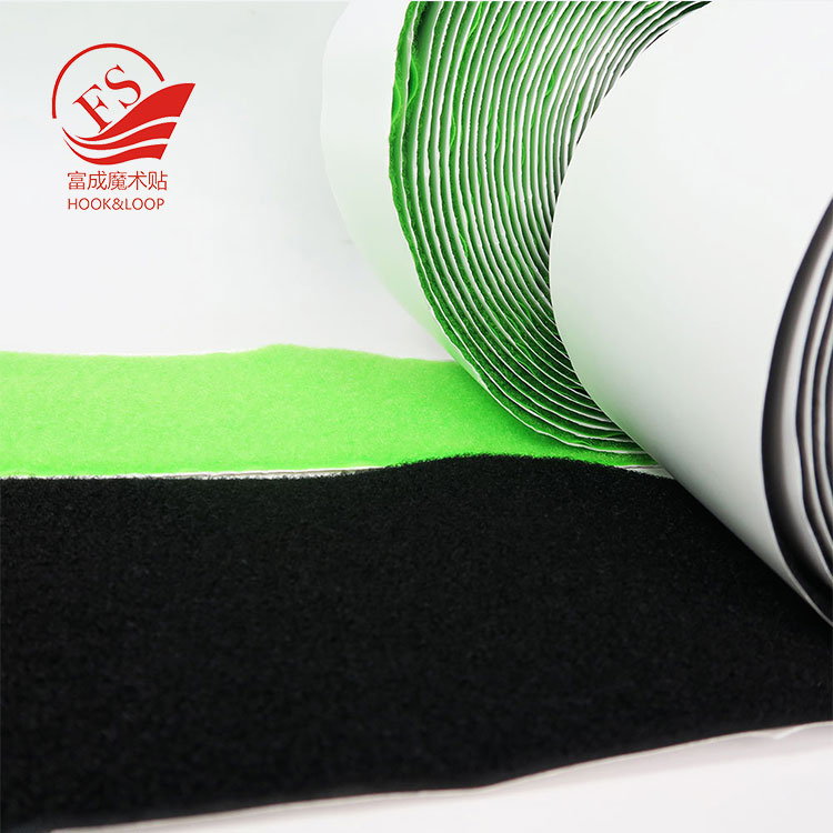 Custom made Self adhesive strong sticky hook and loop factory price