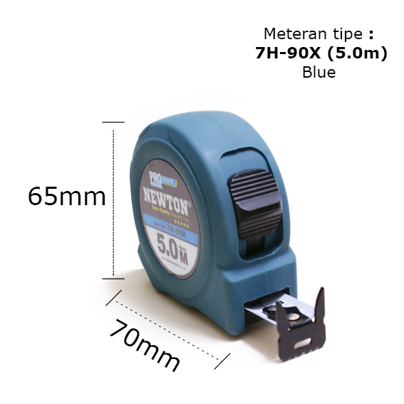 Hot sale 7H- 90X Blue Professional grade Measuring Tape factory with best quality