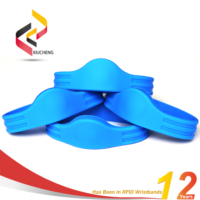 13.56MHZ Access Control RFID Woven Wristband