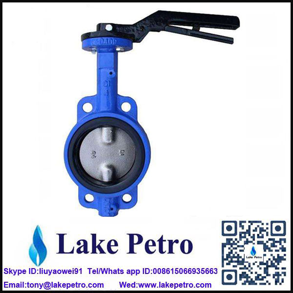 Butterfly valve Wafer type 16BAR the best quality