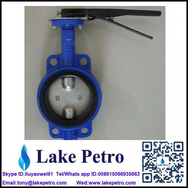 Butterfly valve Manual Wafer type low