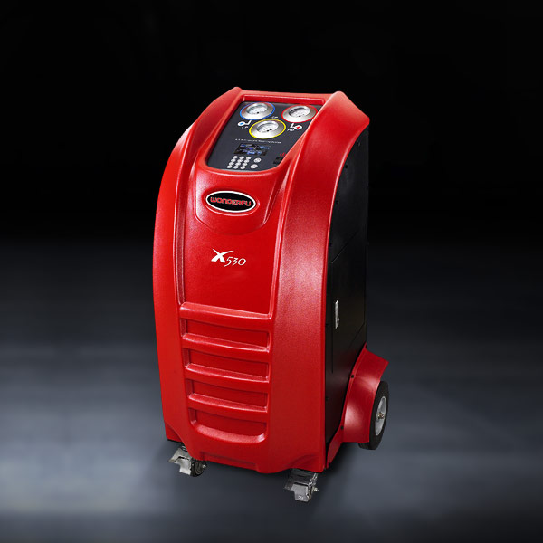 Automotive garage equipment X530 full automatic Air conditioning repair machine for refrigerant recovery and recharge